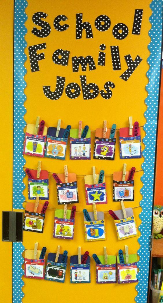 Modern Classroom Jobs ~ So proud of my new conscious discipline school family job