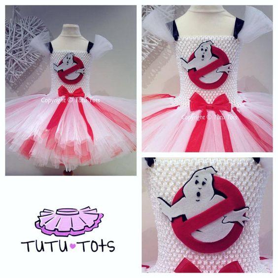 Ghostbusters tutu dress from tutu tots