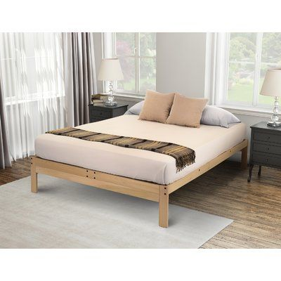 Matheney Platform Bed Wood Platform Bed Bed Sizes Upholstered Platform Bed