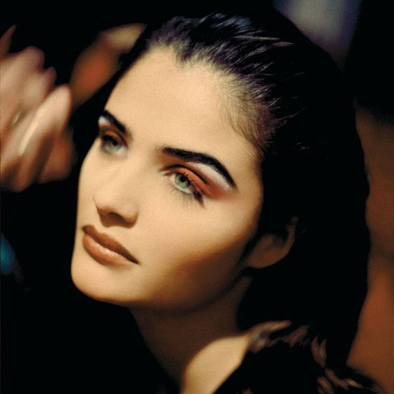 "midnight-charm: ""Helena Christensen photographed by Rohn Meijer, 1994 """