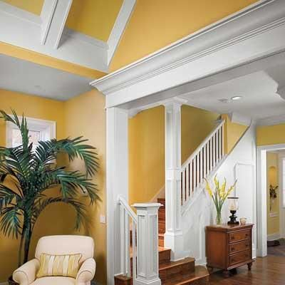 All about crown molding beautiful the head and entryway for Fypon crown molding trim