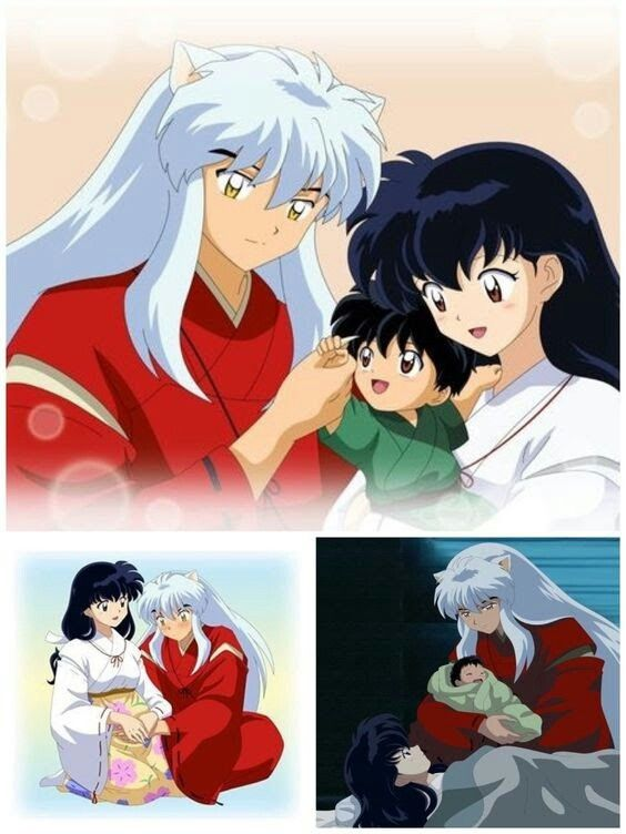 Inuyasha Y Su Familia Inuyasha Anime Pregnant Kagome And