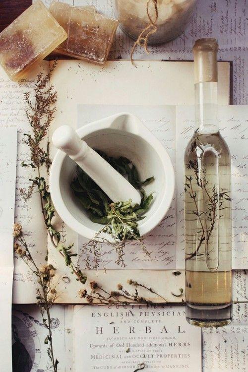 DIY: How To Store and Make Your Own Herbal Remedies ↣✿ | herbology, herbalism, healing plants, herbal medicine