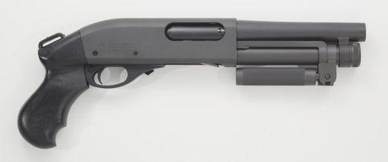 Serbu super shorty a one off conversion of a mossberg 500 shotgun