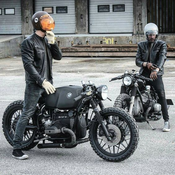 "goldblack83: ""surround yourself with good friends @relicmotorcycles "":"