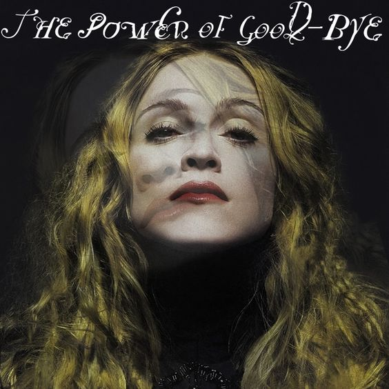 Madonna – The Power of Good-Bye (single cover art)