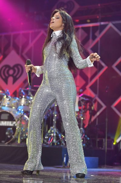 Camila Cabello Photos - Camila Cabello performs at Z100's Jingle Ball 2018 at Madison Square Garden on December 7, 2018 in New York City. - Z100's Jingle Ball 2018 - Show