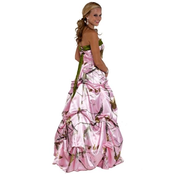 camo wedding dresses  Pink camouflage wedding gowns  our wedding ...
