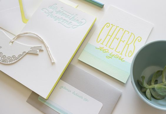 I'm lov­ing all the new paper goods by Moglea. Check out the look­book in its entirety right here.