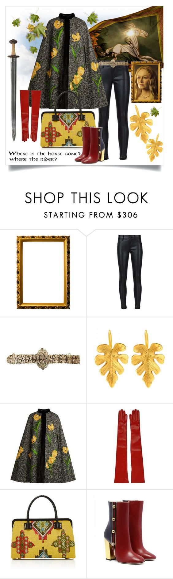 """""""Where is the horse gone? where the rider?"""" by capricat ❤ liked on Polyvore featuring Bottega d'Arte Maselli, RtA, Dolce&Gabbana, Mario Portolano and Marian Paquette"""