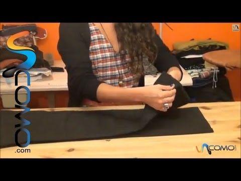 Cómo hacer el dobladillo del pantalón - YouTube