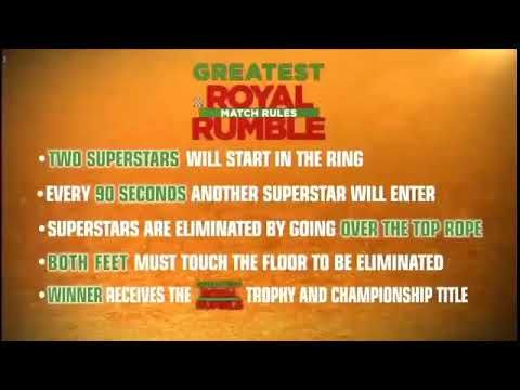 50 Man Greatest Royal Rumble Hd Wwe Greatest Royal Rumble 27th April 2018 Highlights Https Youtu Be Bxs75aexm7o Royal Rumble Youtube Youtube Videos