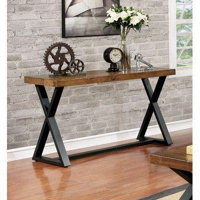 mueble recibidor estilo industrial