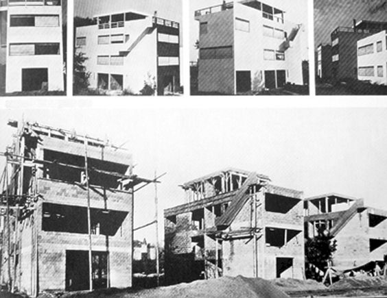 pessac le corbusier architecture modern mid century modern pinterest le corbusier. Black Bedroom Furniture Sets. Home Design Ideas