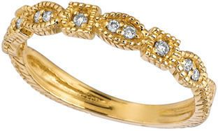 Lord & Taylor Diamond Ring in 14 Kt. Yellow Gold on shopstyle.com
