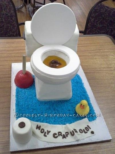 Funniest Gross Birthday Cake Ever... This website is the Pinterest of birthday cake ideas: