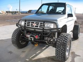 Geo Tracker On Steroids Suzuki Vitara 4x4 Tracker Grand Vitara
