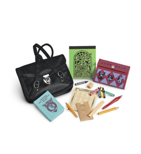 American Girl Doll Kit's School Supplies and Satchel https://t.co/urP4Zj5T5s https://t.co/sTPQISnYWj