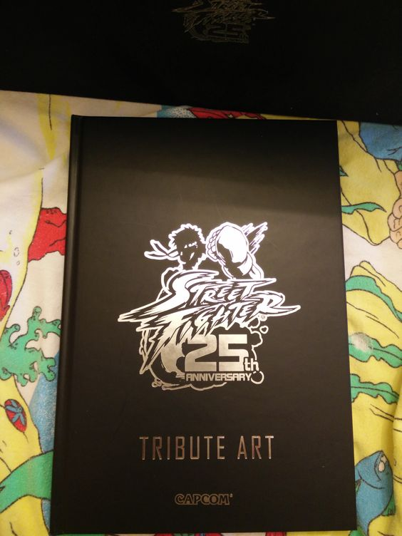 Street Fighter 25th Anniversary Artbook