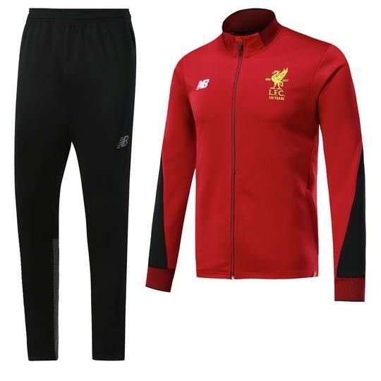 Circular fatiga Molde  Liverpool F.C. Football club New Balance Men's Pre-Match Replica TRAIN –  www.worldsoccerfootballshop.com | Sport outfit men, Casual tops, Sportswear