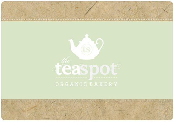 Custom Logo  -  PreDesigned PreMade Logo Design TEASPOT