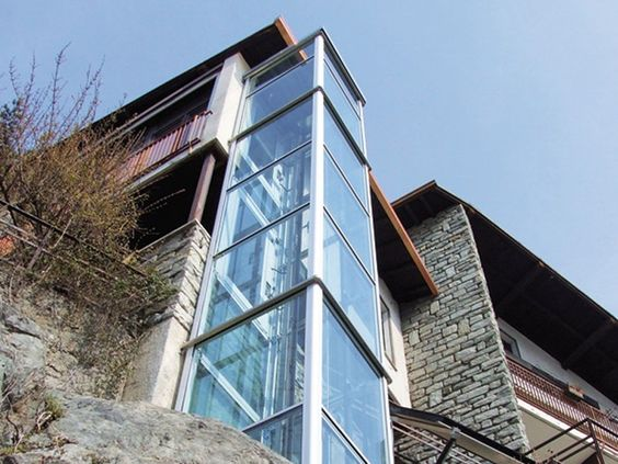 Mini elevador para exterior DOMUSLIFT | Mini elevador para exterior - IGV GROUP