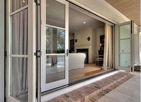 Sliding Glass Doors And Windows Are Visually Pleasing Because They Enable Added Light Right Int Sliding Doors Exterior Folding Patio Doors Glass Doors Interior