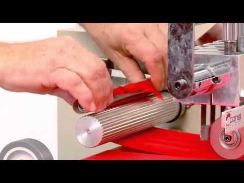 Maquina para cortar vies portatil ST2000 Stelean - YouTube