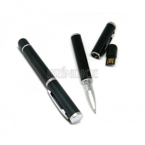 Caneta Pen Drive personalizada - Caneta Pen Drive Metal. Caneta pen drive para dar de brinde . Capacidade 4 GB.