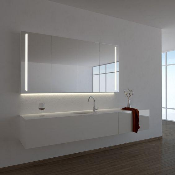 Top 25+ best Badezimmer spiegelschrank mit beleuchtung ideas on - badezimmer spiegelschrank ikea amazing design