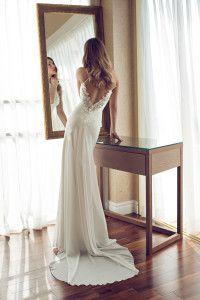 julie vino sexy wedding dress Melanie
