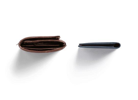 Schlanke Leder-Geldbörsen von Bellroy
