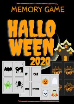 Halloween 2020 In Memory Of Halloween 2020 Memory Game in 2020 | Memory games, Memories
