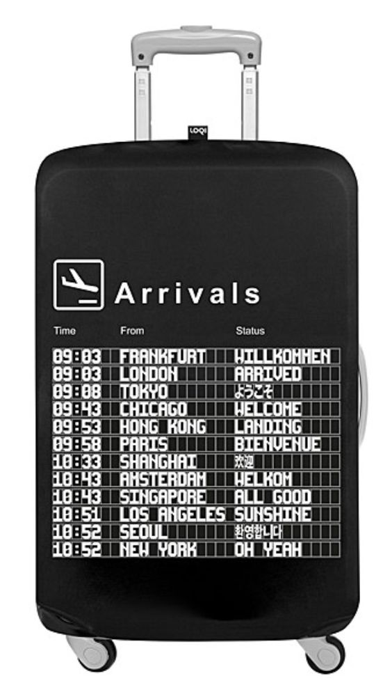 Arrivals Luggage Cover