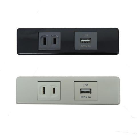 家具製作用埋め込み 2p コンセント Usb Kqlft Tools 照明 スイッチ コンセント 照明