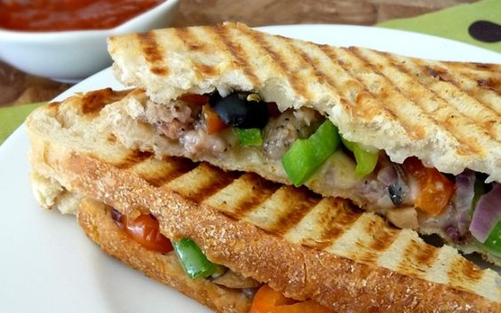 Cooking For a Young Family: Supreme Pizza Panini