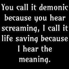 Metal music truth