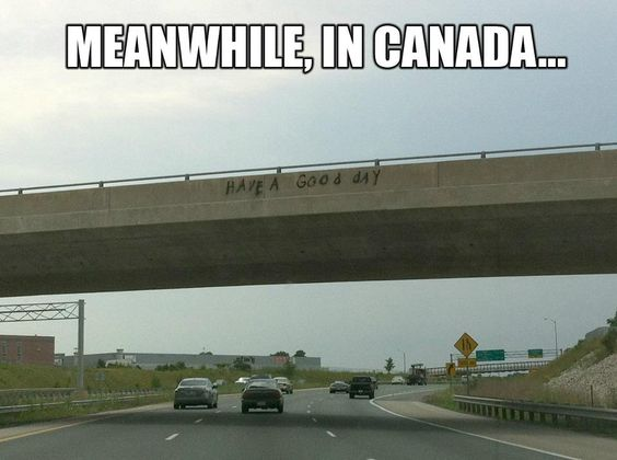 I love that this made Pinterest. All the way from Hamilton, Ontario. Canadian Graffiti: