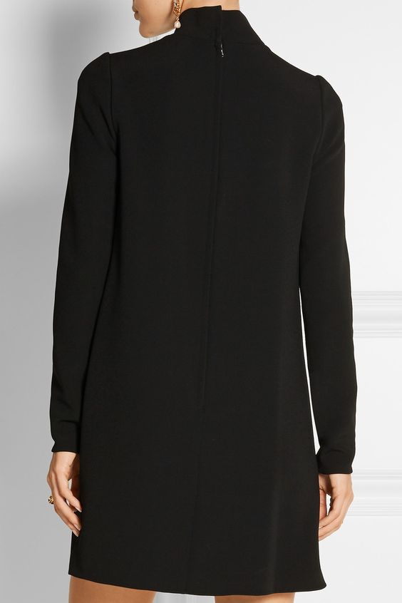 Dolce & Gabbana   Stretch-crepe mini dress   NET-A-PORTER.COM
