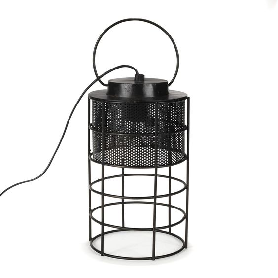 lampe baladeuse style industriel noir oxyd faraday les lampes poser lampes luminaires. Black Bedroom Furniture Sets. Home Design Ideas