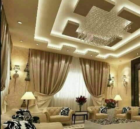 اشكال اسقف جبس بورد غرف وصالات وريسبشن متنوعة قصر الديكور False Ceiling Design Ceiling Design Living Room Bedroom False Ceiling Design