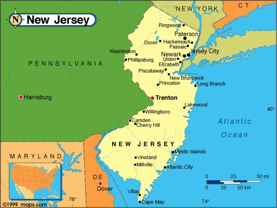 The Great State Of New Jersey  Cool Places  Pinterest