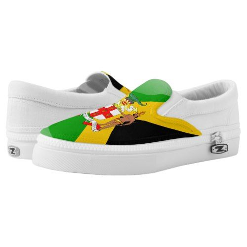 Jamaica Flag Country Mens Casual Canvas Sneakers