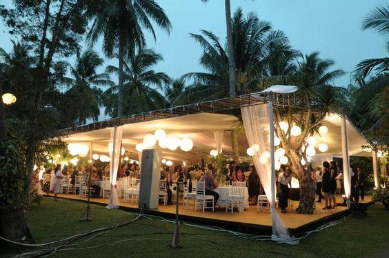 Wedding Venue Garden Party Di Bandung Wedding Theme Concept