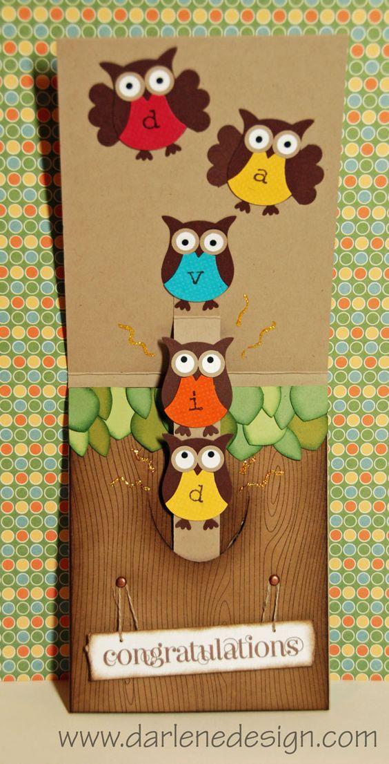 Owl Pocket Slider Pop-Up