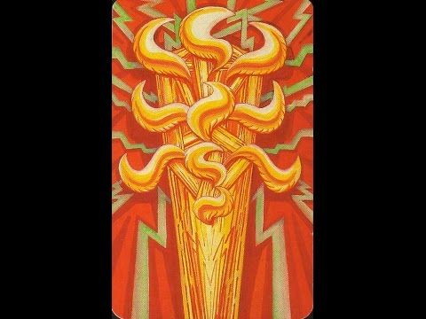 Ace of Wands - meanings and description - YouTube