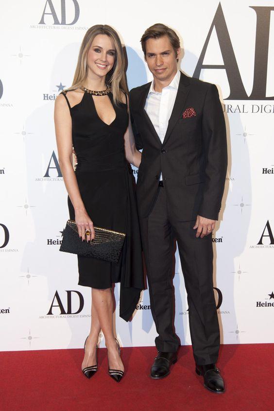 Carlos Baute y Astrid Klisan Premios AD 2014