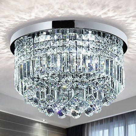 Saint Mossi Modern K9 Crystal Raindrop Chandelier Lightin Https