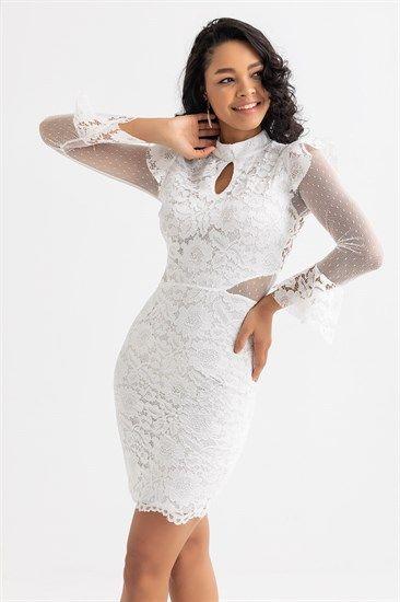 Dantel Ve Gupur Abiye Modelleri Deniz Butik Resmi Elbise The Dress Mini Elbiseler