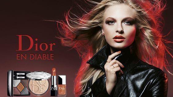 Dior en Diable, maquillage automne 2018